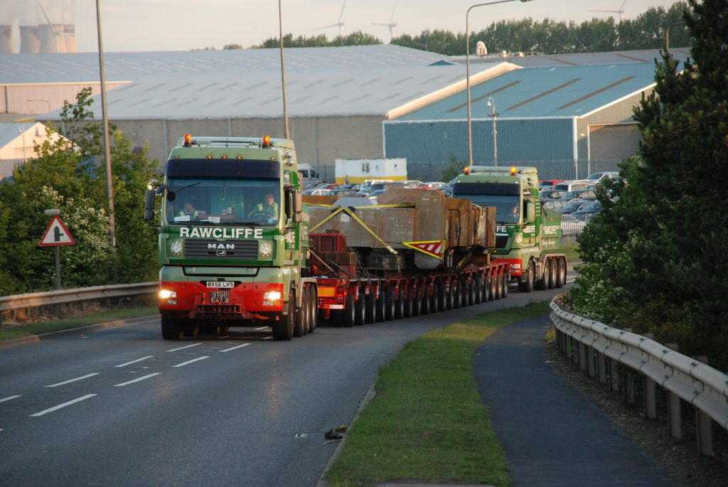 What is the process of our Heavy Haulage service?