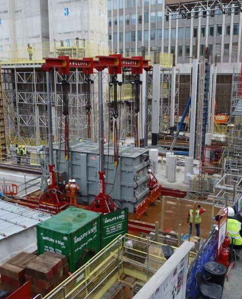 Lift System Project, Kinsgate House - J.B Rawcliffe
