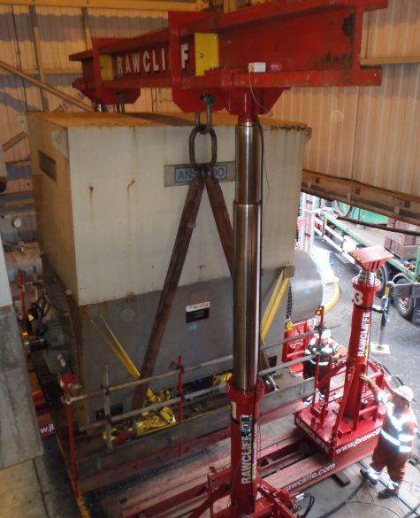 Lift System Project Runcorn - J.B Rawcliffe
