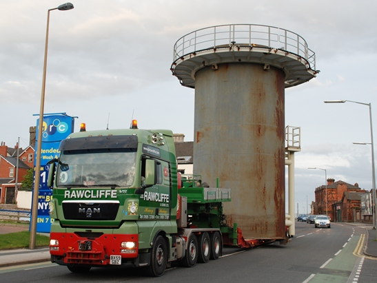 JB Rawcliffe & Sons Ltd - Abnormal Load Transport Facility
