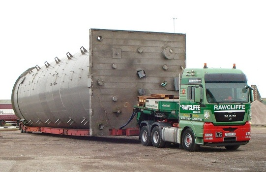 Transporting an Abnormal Load - JB Rawcliffe & Sons