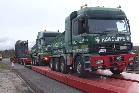 UK's leading Abnormal Load Transport Facility - JB Rawcliffe & Sons Ltd