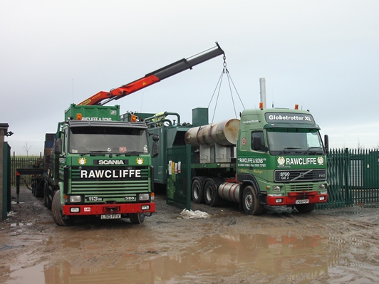Machinery Handling Services