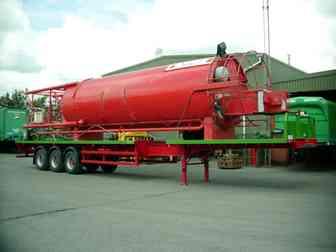 Large Tank Transportation - J.B Rawcliffe