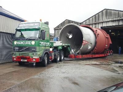 Heavy Haulage Service - JB Rawcliffe & Sons Ltd