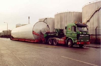 Boat Cargo Transportation - J.B Rawcliffe