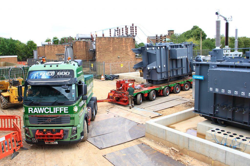 Transformer Installation - J.B Rawcliffe