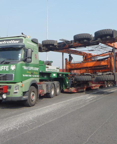 Large Vehicle Haulage - J.B Rawcliffe