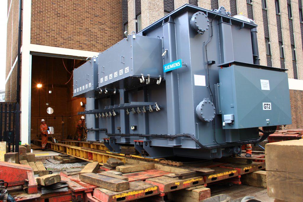 Siemens EBG 76t WPD Laywood Substation Birmingham - J.B Rawcliffe