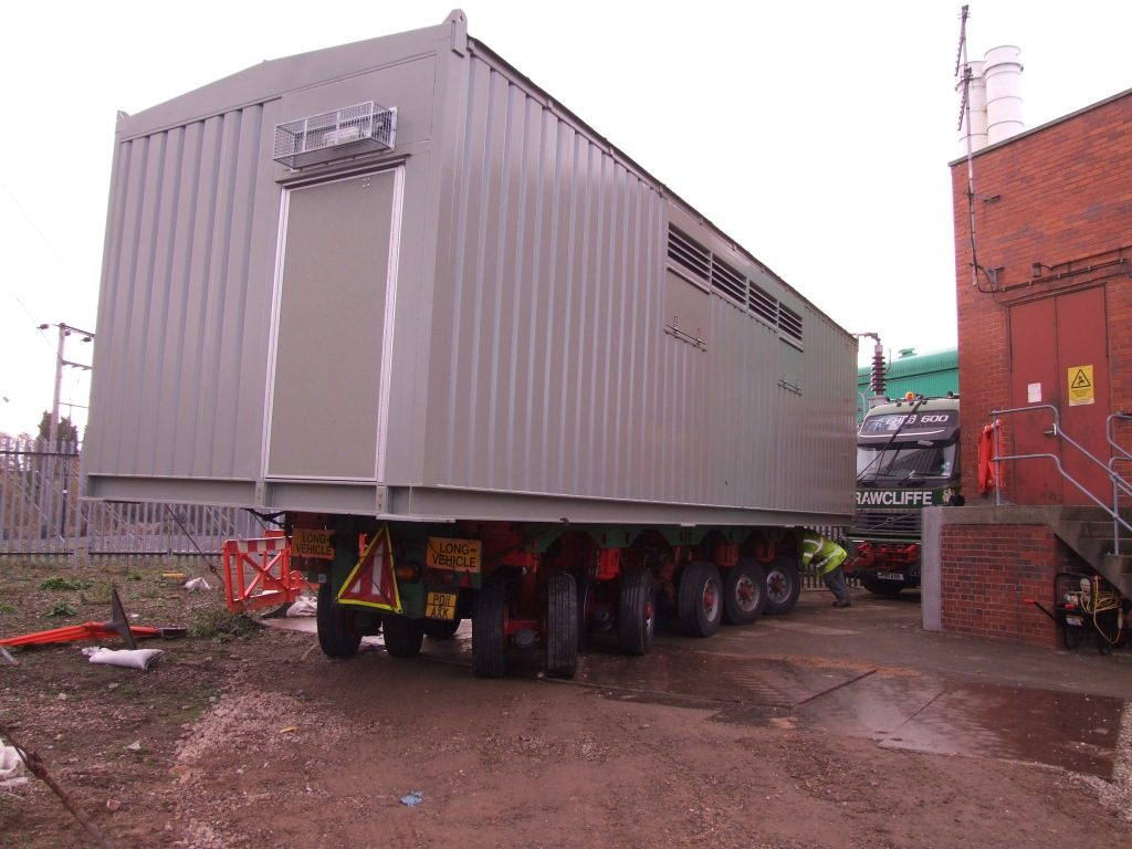 Industrial Movers - J.B Rawcliffe