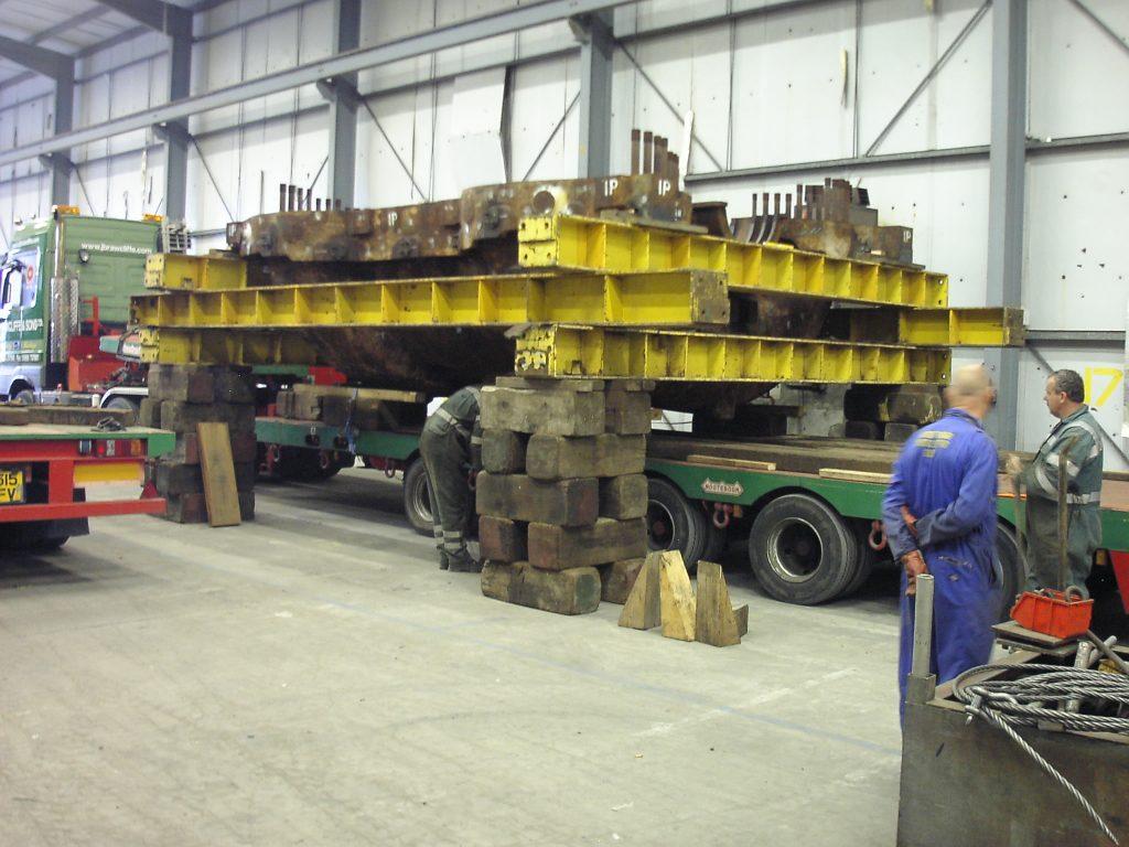 Machinery Movers, JB Rawcliffe UK