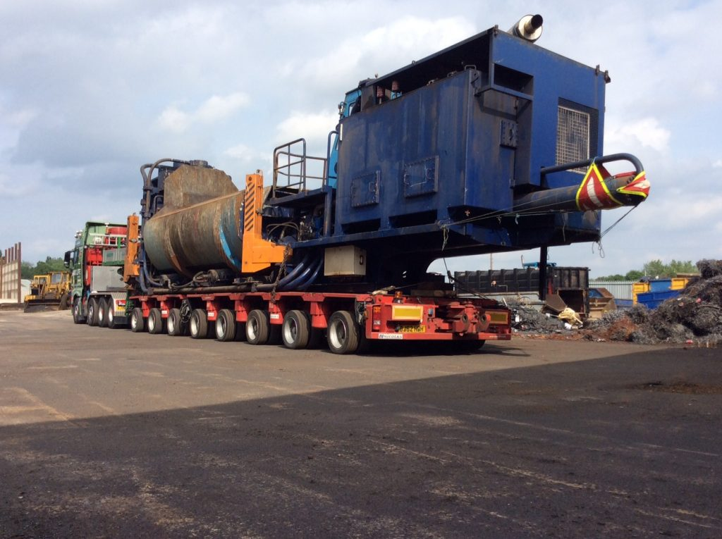 Heavy Haulage Transportation - JB Rawcliffe & Sons Ltd