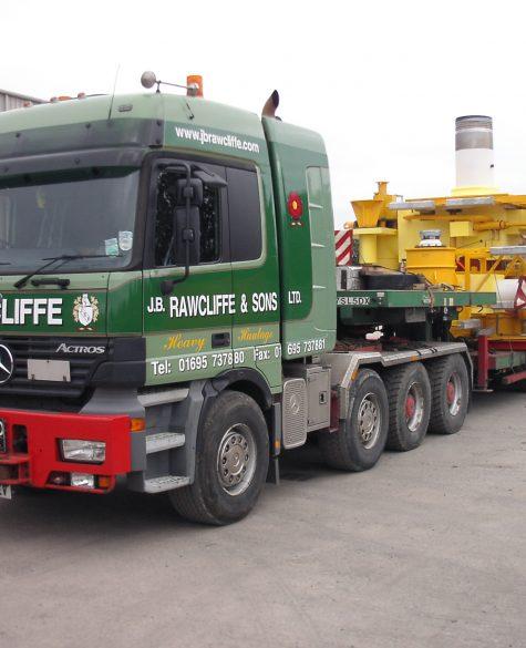 Abnormal Oil & Gas Load Transport