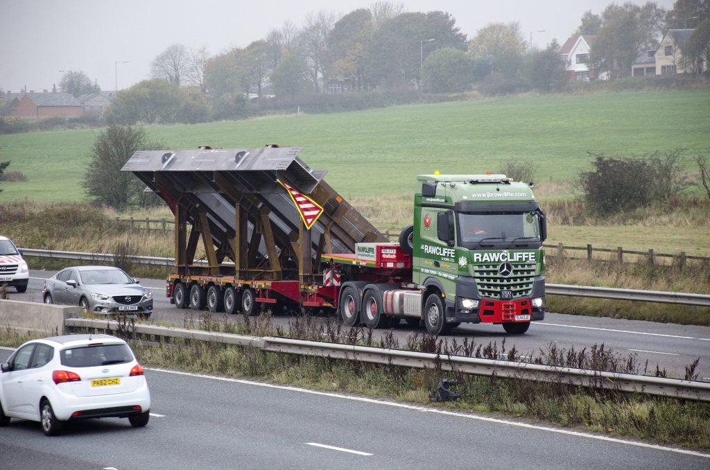 Heavy Haulage Transport Facility - JB Rawcliffe & Sons Ltd