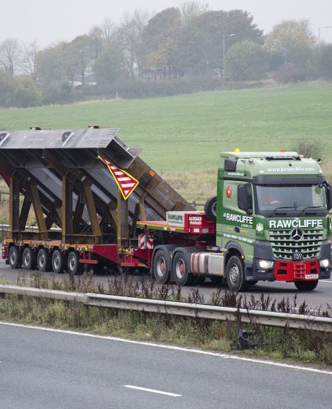 Heavy Haulage Transport Facility - JB Rawcliffe & Sons Ltd