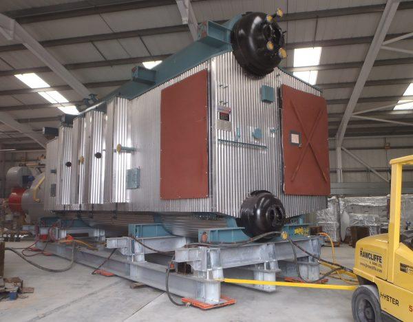 Waste Energy Boiler - J.B Rawcliffe