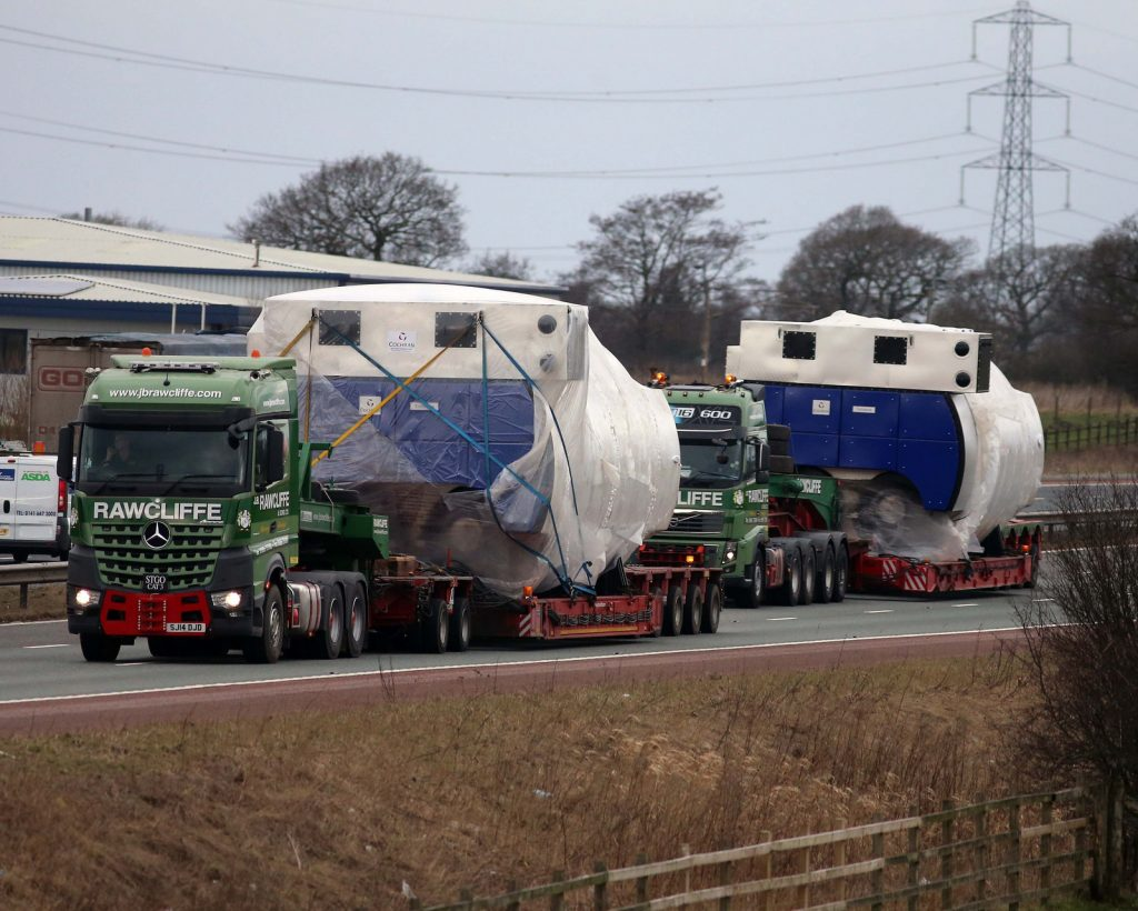Why use JB Rawcliffe for heavy haulage?