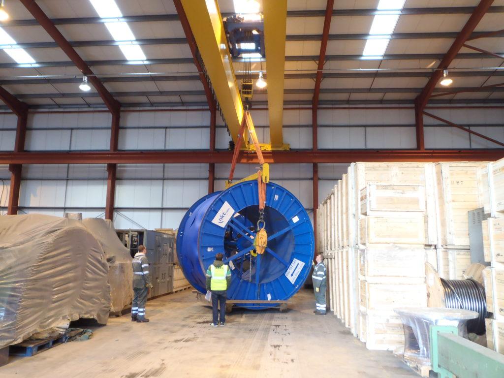 Olympus Heavy Goods Storage - JB Rawcliffe & Sons Ltd