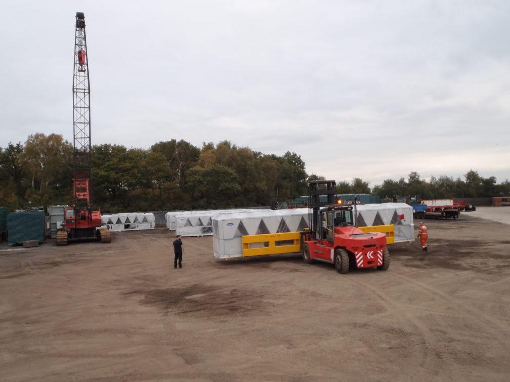Heavy Goods Storage Facility - JB Rawcliffe & Sons